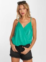 Only top onlGemma Wrap Singlet turquois