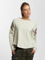 Only trui onlDarma Flower Embroidery beige