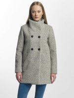 Only winterjas onlAlly Sophia Wool grijs