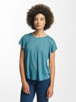 Oxbow T-Shirty Trinity Crinkle turkusowy