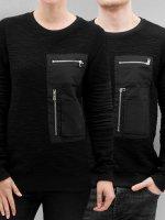 Paris Premium Swetry Pocket czarny