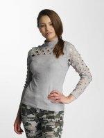Paris Premium T-Shirt manches longues Penelope gris