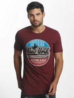 Paris Premium T-Shirt New York rouge