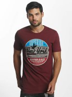 Paris Premium T-Shirty New York czerwony