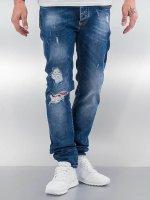 Pascucci Straight fit jeans Suzi blauw