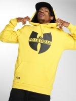 Pelle Pelle Felpa con cappuccio x Wu-Tang Batlogo Mix giallo