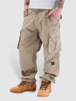 Pelle Pelle Pantalon cargo Basic kaki