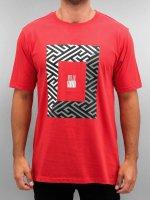 Pelle Pelle T-paidat 50/50 Dark Maze punainen