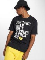 Pelle Pelle T-Shirty x Wu-Tang Nuthing Ta Fuck Wit czarny