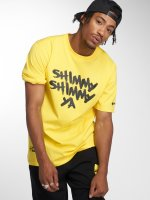 Pelle Pelle T-Shirty x Wu-Tang Shimmy Shimmy zólty