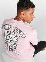 Pelle Pelle T-skjorter Soda Club lyserosa