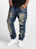 Petrol Industries Straight fit jeans Empire blauw