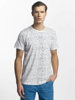 Petrol Industries T-Shirt Triangle blanc