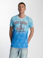 Petrol Industries T-Shirt Dry Goods & Supply blau