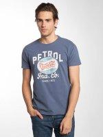 Petrol Industries T-Shirt Crude Oil blau