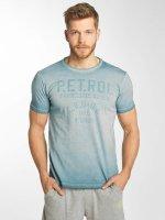 Petrol Industries T-Shirt 73 blau