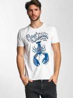 Petrol Industries T-Shirt Lobster white