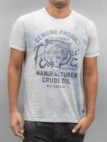Petrol Industries Tričká Deep modrá
