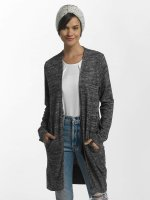 Pieces Cardigan pcAsta Long gray