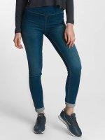Pieces High Waisted Jeans pcHighwaist modrý