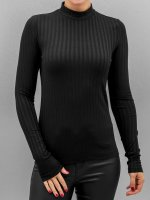 Pieces Longsleeve pcAmy schwarz