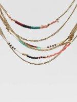 Pieces Necklace pcDora gold colored