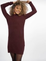 Pieces Pullover pcJane Long Wool rot
