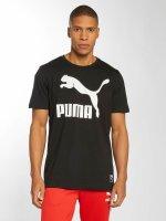 Puma T-Shirt Archive Logo schwarz