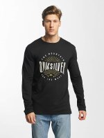 Quiksilver Longsleeves Classic Mad Wave czarny