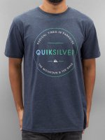 Quiksilver T-Shirt Free Zone Heather blau