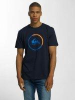 Quiksilver T-Shirt Classic Active Logo bleu