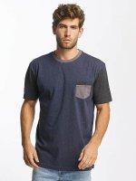 Quiksilver T-Shirt Baysic Pocket bleu