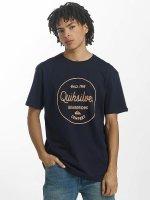 Quiksilver T-Shirt Classic Morning Slides bleu