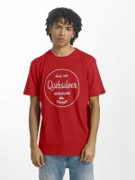 Quiksilver T-Shirt Classic Morning Slides rouge