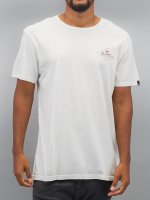 Quiksilver T-Shirt Garment Dye Volvano weiß