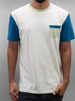 Quiksilver T-Shirt Baysic Pocket white