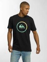 Quiksilver t-shirt Classic Active Logo zwart