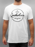 Quiksilver T-Shirty Classic bialy