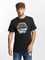 Quiksilver T-skjorter Classic Comfort Place svart
