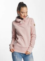 Ragwear Mikiny Chelsea Dots pink