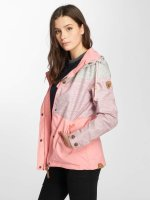 Ragwear Prechodné vetrovky Fancy pink