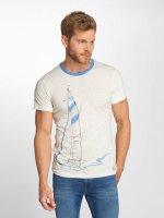 Ragwear T-Shirt City blanc