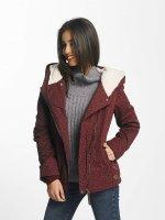 Ragwear winterjas Paulina rood