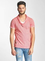Red Bridge Camiseta Stripes rojo