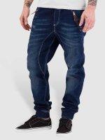 Red Bridge Jogginghose Jeans Look blau
