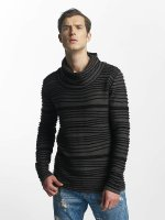 Red Bridge Pullover Stripe grau