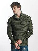 Red Bridge Pullover Stripe khaki