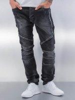 Red Bridge Straight Fit Jeans Crazy black