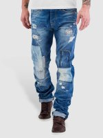 Red Bridge Straight fit jeans Patches blauw
