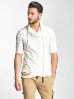 Red Bridge T-Shirt Asymmetric beige